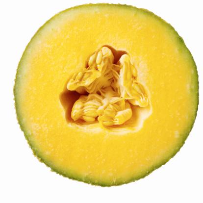 メロン「Close-up of half a melon」:スマホ壁紙(4)