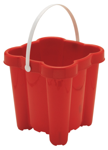 Bucket「close-up of red plastic bucket」:スマホ壁紙(8)