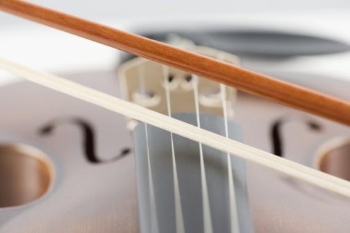 Violin「Close-up of a violin」:スマホ壁紙(8)