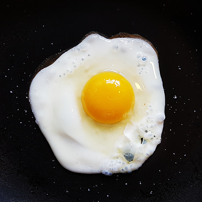 Ketogenic Diet「Close-up of a Fried egg」:スマホ壁紙(1)