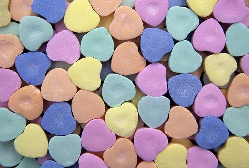 Redmond - Washington State「Close-up of candy hearts, Redmond, Washington State, USA」:スマホ壁紙(13)