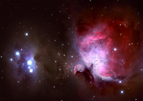 Multiple Exposure「Closeup of the Great Orion Nebula」:スマホ壁紙(5)