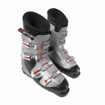 Silver Shoe「Close-up of ski boots」:スマホ壁紙(12)