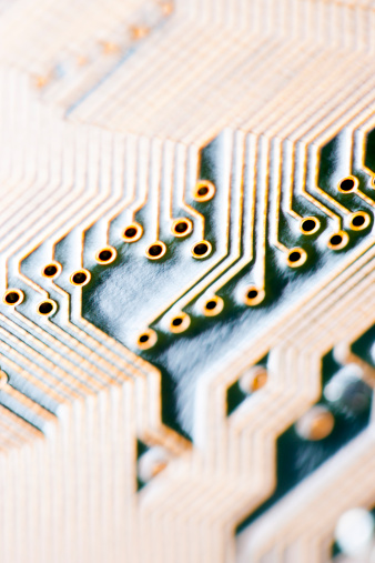 Soldered「Close-up of a circuit board」:スマホ壁紙(6)