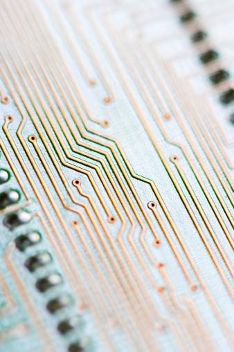 Soldered「Close-up of a circuit board」:スマホ壁紙(2)