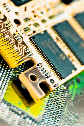 Satisfaction「Close-up of a circuit board」:スマホ壁紙(11)