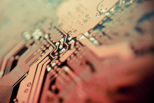 Mother Board「Close-up of a circuit board」:スマホ壁紙(19)