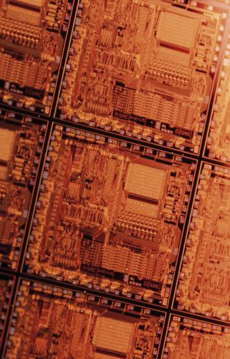 Mother Board「Close-up of microchips」:スマホ壁紙(11)