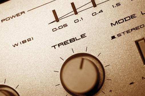 Rock Music「Close-up of treble knob on sound mixer」:スマホ壁紙(8)