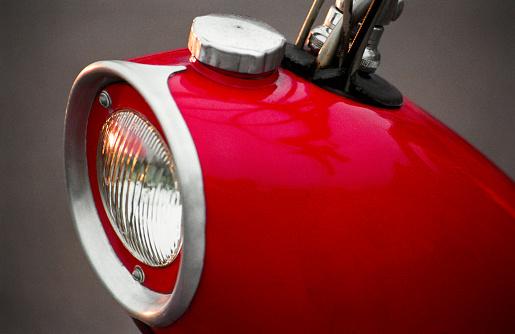 Motorcycle「Close-Up Of Vintage Moped Gas Tank」:スマホ壁紙(11)