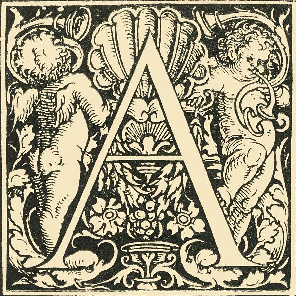 Manuscript「A - An Alphabet By Hans Weiditz」:写真・画像(7)[壁紙.com]