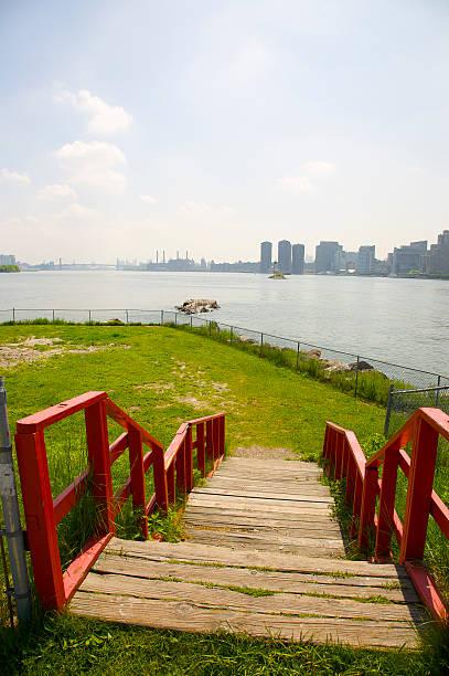 Steps at southern end of Roosevelt Island leading to site for the proposed Franklin Delano Roosevelt Memorial Park:スマホ壁紙(壁紙.com)
