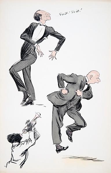 楽器「Two Men In Suits Dancing While A Musician Plays The Trumpet」:写真・画像(14)[壁紙.com]