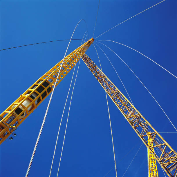 Positioning of roof supports during construction of Millennium Dome, Greenwich, London, UK:ニュース(壁紙.com)