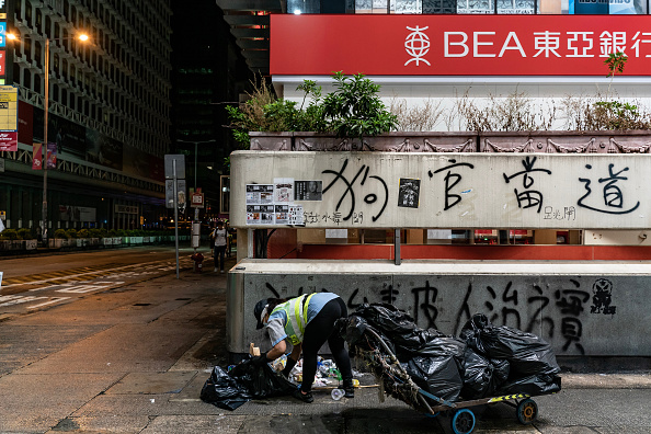 Mong Kok「Anti-Government Protests Continue in Hong Kong」:写真・画像(10)[壁紙.com]