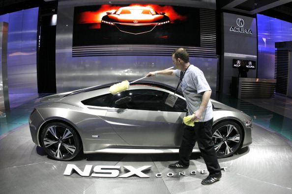 NSX「North American Int'l Auto Show Features Latest Car Models From Around The World」:写真・画像(17)[壁紙.com]