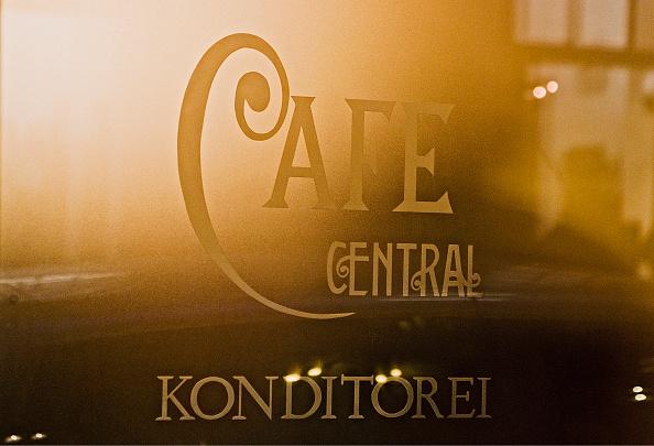 Cafe「Cafe Central. Pastry Shop. Logo On The Front Door」:写真・画像(14)[壁紙.com]