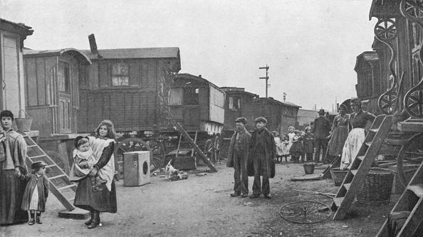 ジプシー「A travellers' encampment, Battersea, London, c1903 (1903)」:写真・画像(5)[壁紙.com]