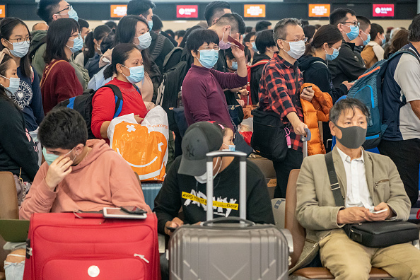 China Photos「Deadly Wuhan Coronavirus Spreads To Hong Kong」:写真・画像(18)[壁紙.com]