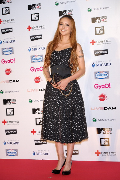 安室奈美恵「MTV Video Music Aid Japan - Red Carpet」:写真・画像(6)[壁紙.com]