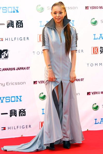 安室奈美恵「Arrivals At The MTV Video Music Awards Japan 2007」:写真・画像(4)[壁紙.com]