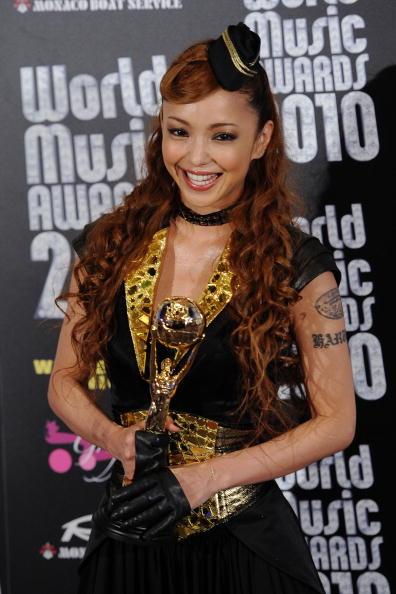 安室奈美恵「World Music Awards 2010 - Press Room」:写真・画像(2)[壁紙.com]