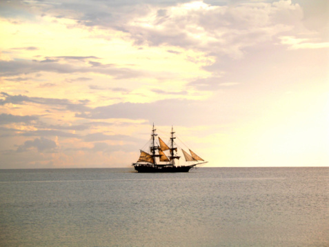 19th Century「tall ship sailing」:スマホ壁紙(13)