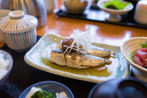 Edo Period「Japanese fish lunch」:スマホ壁紙(13)