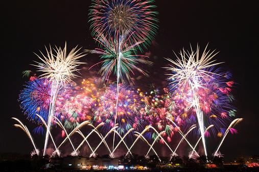 花火「Japanese Fireworks」:スマホ壁紙(4)