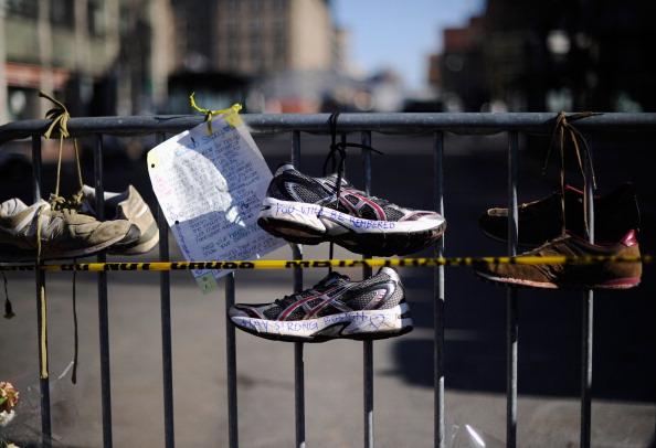 Boston - Massachusetts「Memorials And Sunday Services Held In Honor Of Boston Marathon Bombing Victims」:写真・画像(13)[壁紙.com]