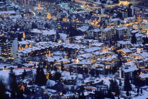 スキー「Town of Vail, Colorado」:スマホ壁紙(18)