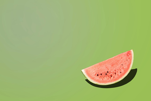 Green Background「Watermelon」:スマホ壁紙(2)