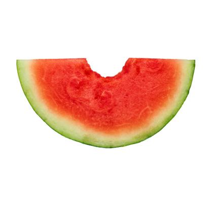 スイカ「Watermelon Slice with a Bite Taken Out」:スマホ壁紙(12)