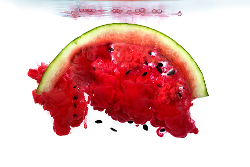 Imagination「Watermelon dissolving in water」:スマホ壁紙(14)
