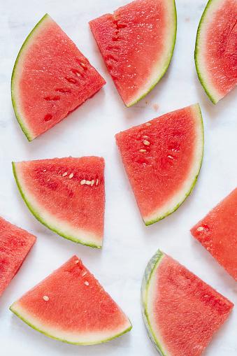 スイカ「Watermelon slices」:スマホ壁紙(9)