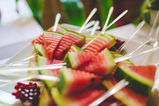 スイカ「メロンのフルーツの盛り合わせ」:スマホ壁紙(0)