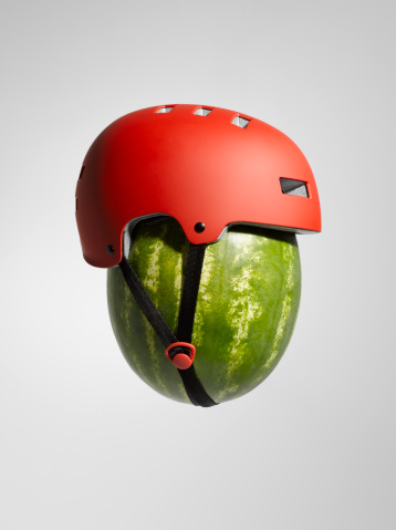 Protection「Watermelon with Helmet」:スマホ壁紙(12)
