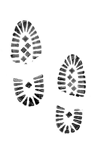 Forensic Science「Crime footprints」:スマホ壁紙(9)