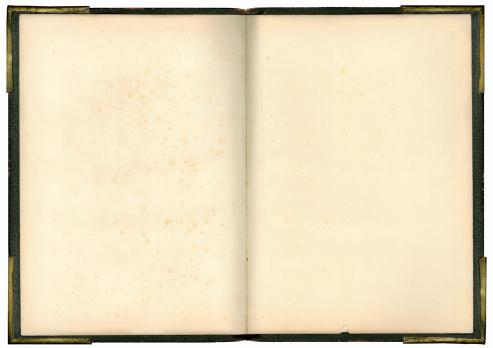 Manuscript「Open Book with metal corners」:スマホ壁紙(2)