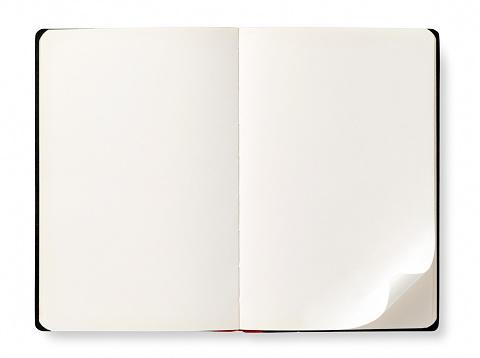 Letter「オープンブックを空白ページ」:スマホ壁紙(10)