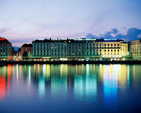 Standing Water「Cityscape view of Geneva」:スマホ壁紙(16)