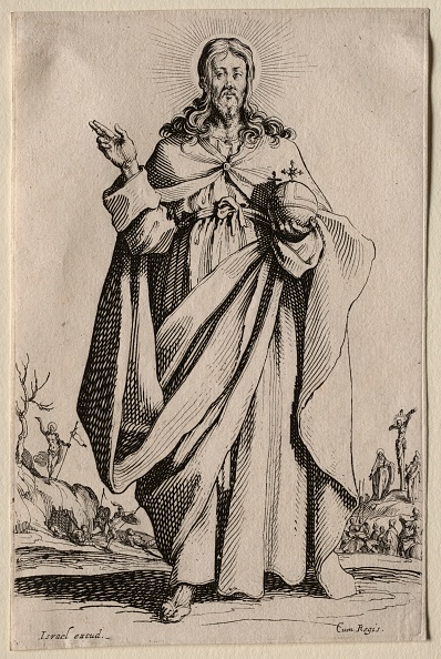 Etching「The Savior. Creator: Jacques Callot (French」:写真・画像(16)[壁紙.com]