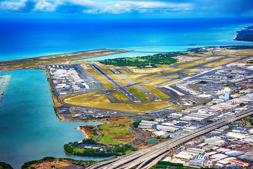 オアフ島「ホノルル国際空港」:スマホ壁紙(0)