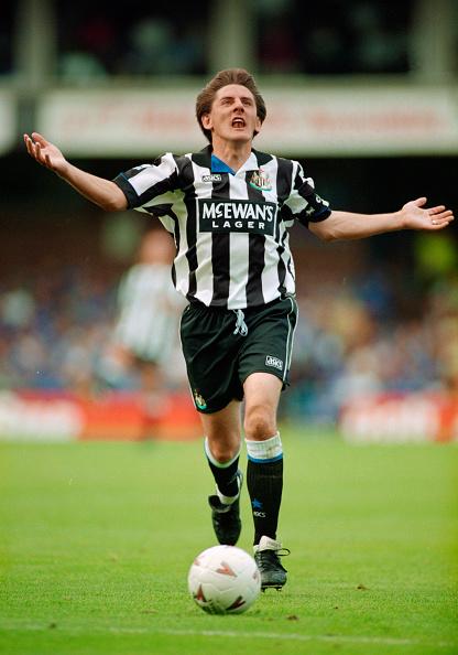Clive Brunskill「Peter Beardsley Newcastle United 1994」:写真・画像(15)[壁紙.com]