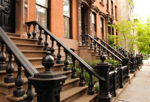 Staircase「Row of Manhattan brownstones」:スマホ壁紙(17)