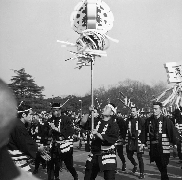 Imperial Palace - Tokyo「Firemen On Parade」:写真・画像(6)[壁紙.com]
