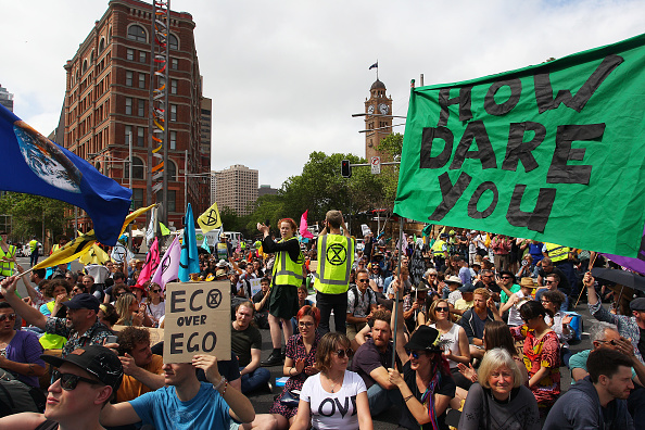 Lisa Maree Williams「Australians Protest Climate Change As Part Of Global Rebellion」:写真・画像(1)[壁紙.com]