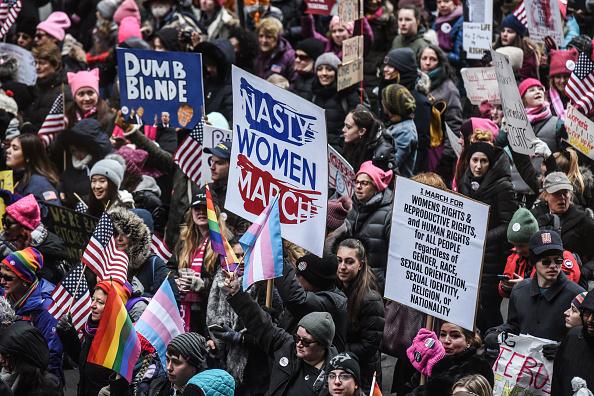 ヒューマンインタレスト「Annual Women's March Takes Place In Cities And Towns Across The Country」:写真・画像(6)[壁紙.com]