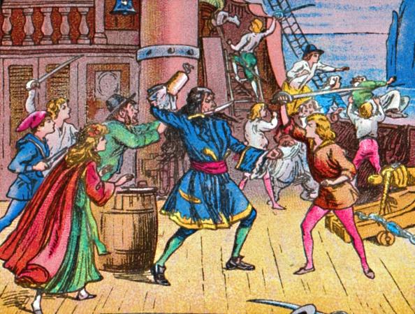 Transfer Print「Defeat Of The Pirates」:写真・画像(8)[壁紙.com]