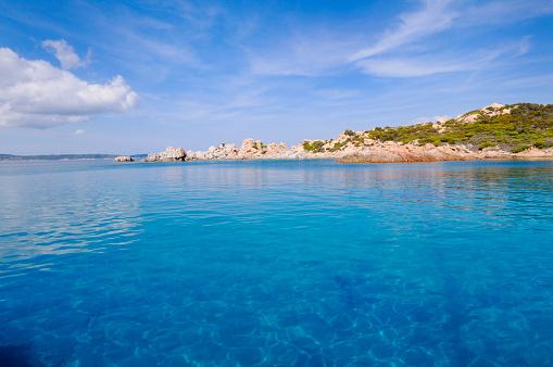 Water Surface「A landscape shot of the blue waters in La Maddalena」:スマホ壁紙(15)